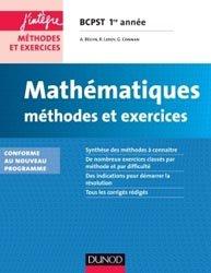 Souvent acheté avec Physique-Chimie, le Mathématiques Méthodes et Exercices BCPST 1re année
