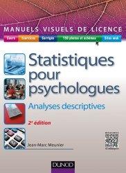 Dernières parutions dans Manuels visuels de Licence, Manuel visuel de statistiques pour psychologues