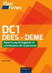 Dernières parutions dans Maxi fiches, Maxi Fiches DC1 - Connaissance de la personne, DEES - DEME