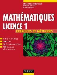 Dernières parutions sur LMD, Mathématiques L1