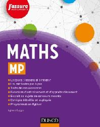 Dernières parutions dans J'assure aux concours, Maths MP