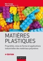 Dernières parutions sur Matériaux synthétiques et composites, Matières plastiques