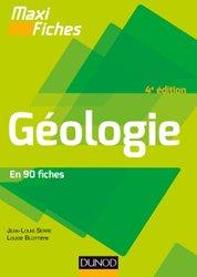 Dernières parutions dans Maxi fiches, Maxi fiches de Géologie - 4e éd. - En 82 fiches