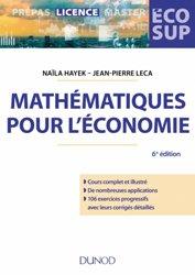 Souvent acheté avec Ecoconception et éco-innovation dans l'agroalimentaire, le Mathématiques pour l'économie