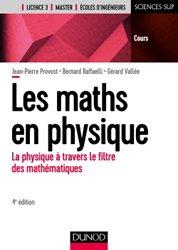 Dernières parutions sur Maths à l'université, Mathématiques en physique