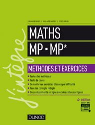 Dernières parutions sur 2ème année, Maths MP - MP*