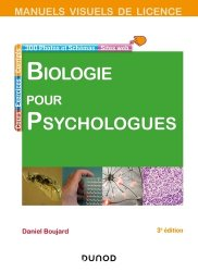Dernières parutions sur Biologie, Manuel visuel de biologie pour psychologues