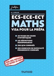 Dernières parutions dans J'intègre, MATHS ECS-ECE-ECT