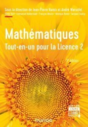 Dernières parutions dans Sciences sup, Mathématiques - Tout-en-un pour la Licence 2