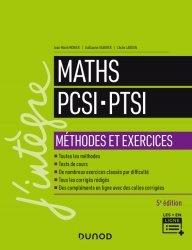 Dernières parutions dans J'intègre, Maths PCSI-PTSI