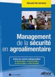 Dernières parutions sur Droit de l'hygiène alimentaire, Management de la sécurité en agroalimentaire