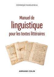 Dernières parutions sur Linguistique, Manuel de linguistique pour les textes littéraires