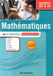 Dernières parutions sur BTS - DUT - IUT, Mathématiques BTS industriels - Manuel élève