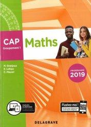 Dernières parutions sur Mathématiques, Maths CAP groupement 1
