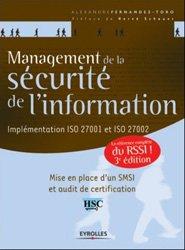 Dernières parutions sur Sécurité réseaux, Management de la sécurité de l'information : implémentation ISO 27001 : une référence opérationnelle pour le RSSI