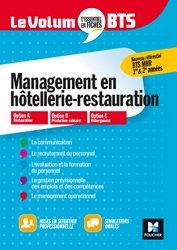 Dernières parutions dans Le Volum' BTS, Management de l'hôtellerie-restauration