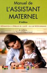 Dernières parutions dans Professions de santé, Manuel de l'assistant maternel