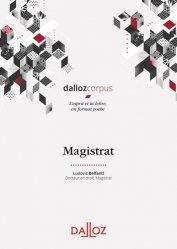 Dernières parutions dans Dalloz corpus, Magistrat