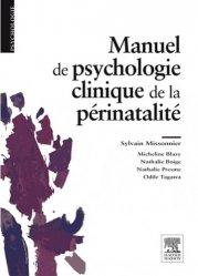 Dernières parutions sur Maternologie, Manuel de psychologie clinique de la périnatalité majbook ème édition, majbook 1ère édition, livre ecn major, livre ecn, fiche ecn