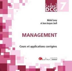 Dernières parutions dans Les Carrés, Management DCG 7