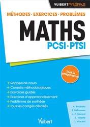 Dernières parutions sur 1ère année, Maths PCSI - PTSI