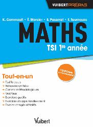 Dernières parutions dans Vuibert Prépas, Maths TSI 1re année