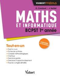 Dernières parutions sur BCPST 1ère année, Maths BCPST 1re année - Cours, synthèse et exercices corrigés