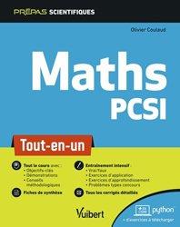 Dernières parutions sur Maths pour la prépa, Mathématique PCSI