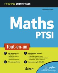Dernières parutions sur Prépas - Écoles d'ingénieurs, Mathématiques PTSI