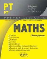 Nouvelle édition Maths PT PT*