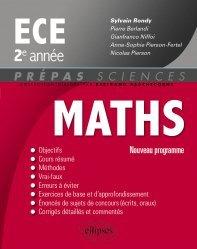 Souvent acheté avec Formulaire Maths ECE 1er& 2e années, le Mathématiques ECE 2e année