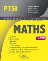 Dernières parutions dans Prépas sciences, Mathématiques PTSI