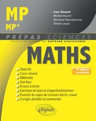 Dernières parutions dans Prépas sciences, Mathématiques MP/MP*