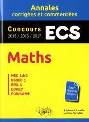 Dernières parutions dans Annales, Maths ESC