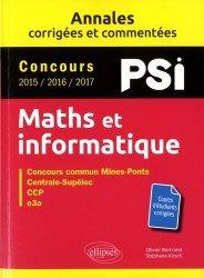 Dernières parutions dans Annales, Maths et informatique, PSI