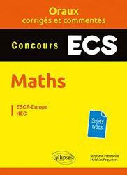 Dernières parutions sur Maths pour la prépa, Mathématiques prépas ECS