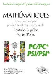 Dernières parutions sur Concours maths, Mathématiques PC/PC* et PSI/PSI*