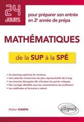 Dernières parutions sur 2ème année, Mathématiques de la Sup à la Spé