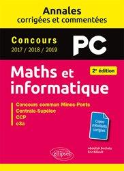 Dernières parutions dans Annales, Maths et informatique PC
