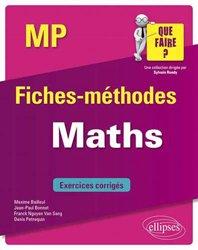 Dernières parutions sur Maths pour la prépa, Maths MP