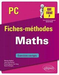 Dernières parutions sur Maths pour la prépa, Maths PC
