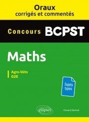 Dernières parutions sur Etudes vétérinaires, Maths BCPST Concours Agro-Véto, G2E