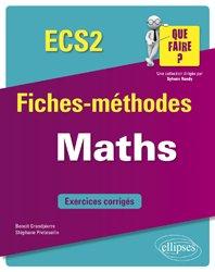 Dernières parutions sur Maths pour la prépa, Mathématiques ECS 2e année
