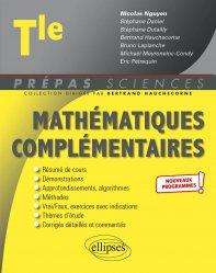 Dernières parutions dans Prépas sciences, Mathématiques complémentaires Tle