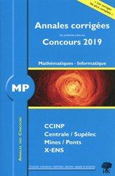 Dernières parutions sur Maths et informatique, Mathématiques - Informatique MP