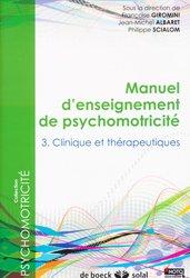 Dernières parutions dans , Manuel d'enseignement de psychomotricite tome 3