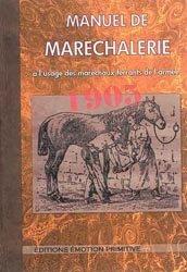 Dernières parutions sur Pansage - Maréchalerie - Sellerie, Manuel de maréchalerie