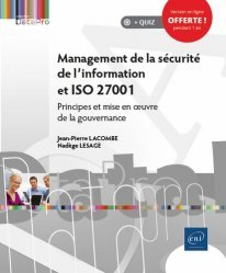 Dernières parutions sur Internet, Management de la sécurité de l'information et ISO 27001