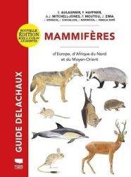 Dernières parutions sur Mammifères, Mammiferes d'europe, d'afrique du nord et du moyen-orient