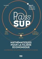 Dernières parutions sur Maths pour la prépa, Mathématique pour la filière économique